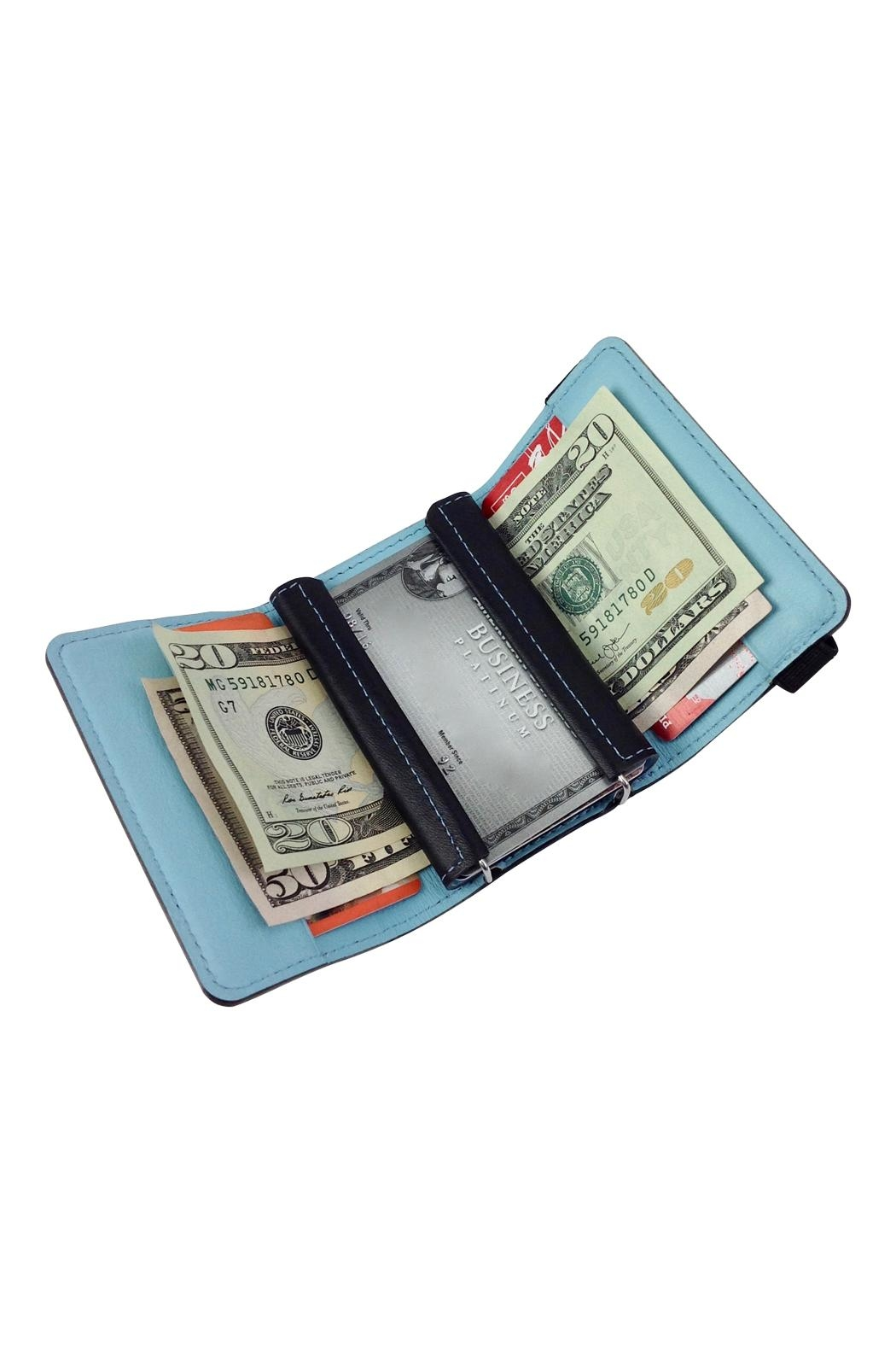 GHome2 Tri Fold Leather Wallet - Main Image