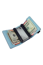 GHome2 Tri Fold Leather Wallet - Front cropped
