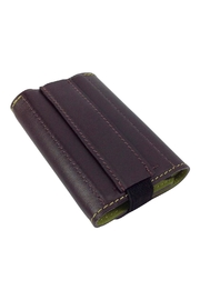 GHome2 Tri Fold Leather Wallet - Front full body
