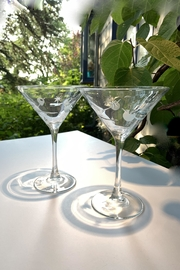 GHome2 Twinkle Martini Glasses - Front cropped