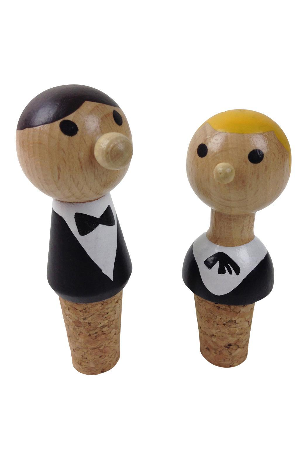 GHome2 Waiter Bottle Stoppers - Main Image