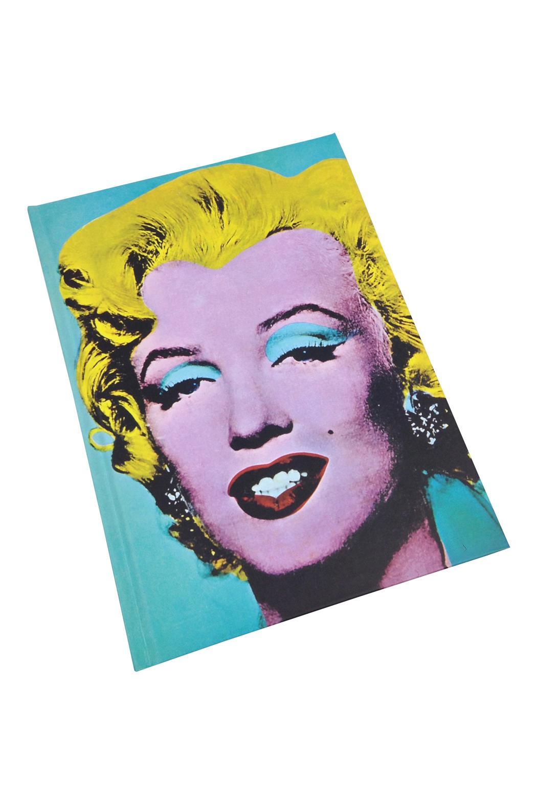 GHome2 Warhol's Monroe Journal - Front Cropped Image