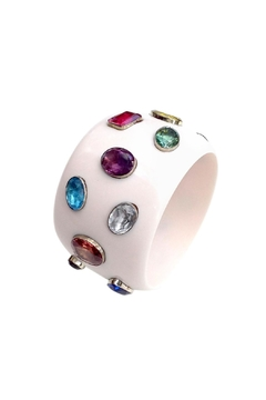 GHome2 White Jeweled Bracelet - Product List Image