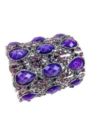 GHome2 Wide Rhinestone Cuff - Product Mini Image
