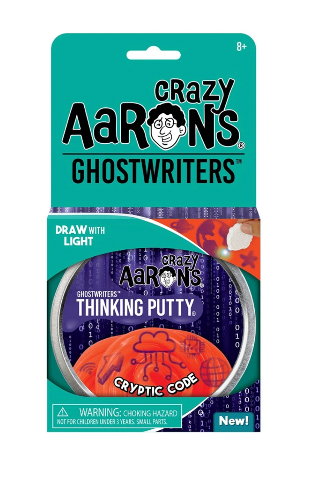 Crazy Aaron's  Ghostwriters Putty: Cryptic Code - Main Image