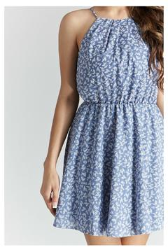 Shoptiques Product: Chambray Floral Dress