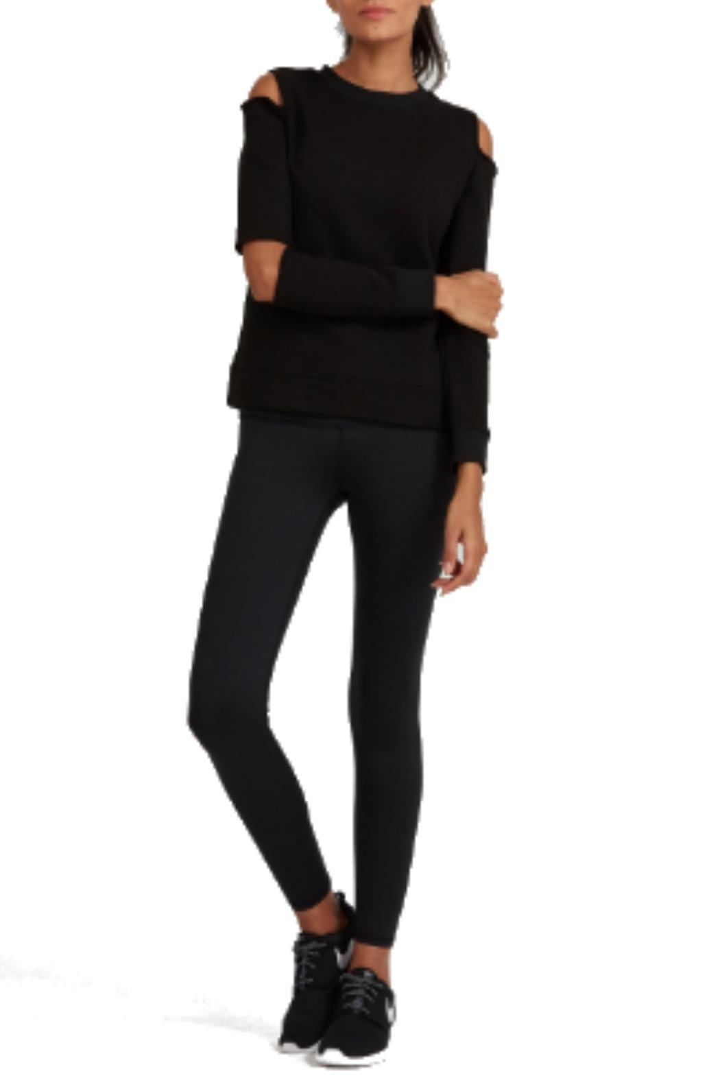 NOLI Gia Cut-Out Pullover - Back Cropped Image