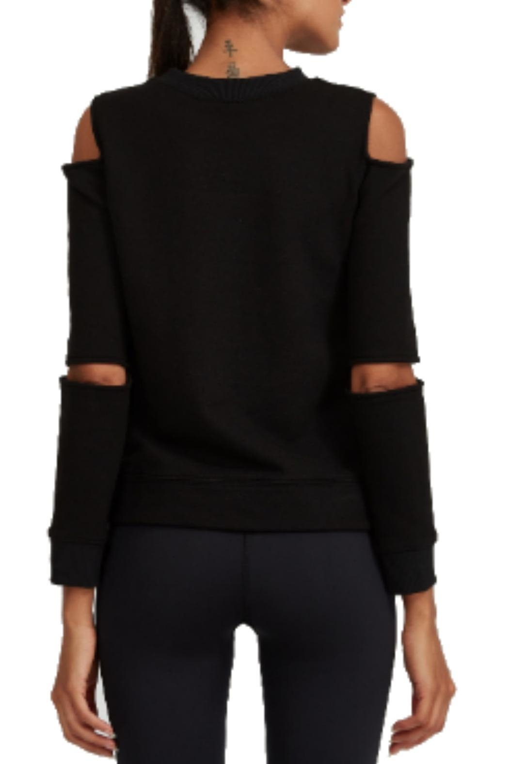 NOLI Gia Cut-Out Pullover - Side Cropped Image