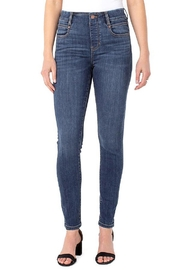 Liverpool  Gia Glider Pull-On Skinny Jean - Front full body