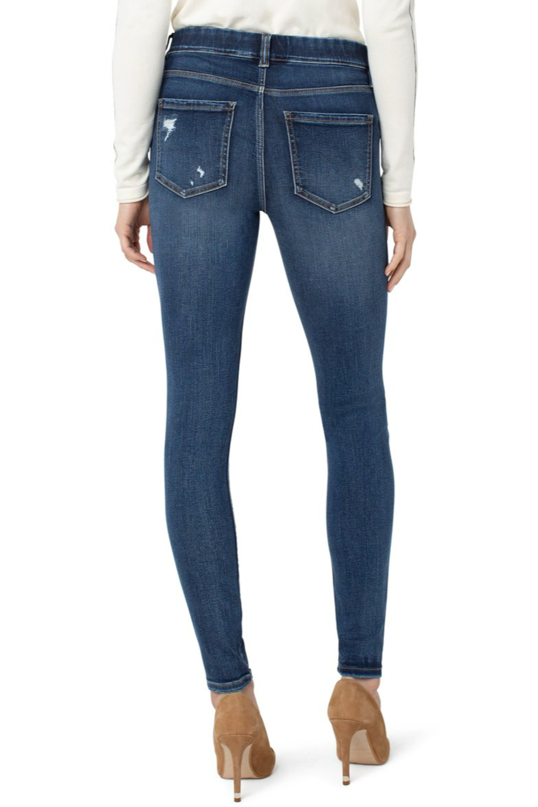 Liverpool  Gia Glider Skinny - Front Full Image