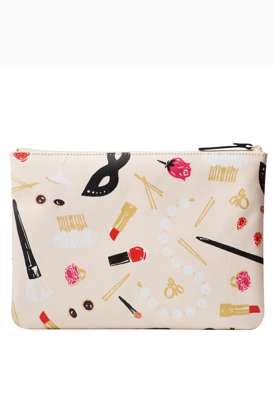 Kate Spade New York Gia Hop-To-It Cosmetic - Front Full Image