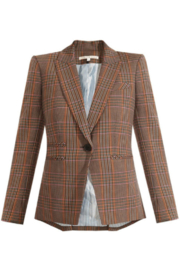 Veronica Beard Gia Plaid Dickey Jacket - Front cropped