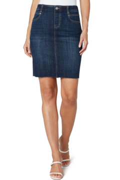 Liverpool  GIA PULL-ON CUT HEM PENCIL SKIRT - Product List Image