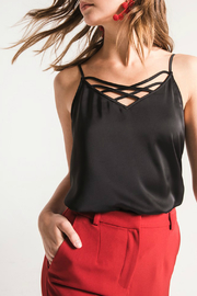 Black Swan Gia Strappy Front Tank - Product Mini Image