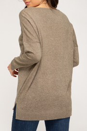 She+Sky Gia Sweater - Front full body