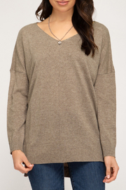 She+Sky Gia Sweater - Front cropped