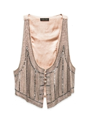 AS by DF Giada Beaded Vest - Front cropped