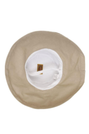 Dorfman Pacific  Giana Cotton Hat - Side cropped
