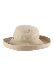 Dorfman Pacific  Giana Cotton Hat - Front cropped