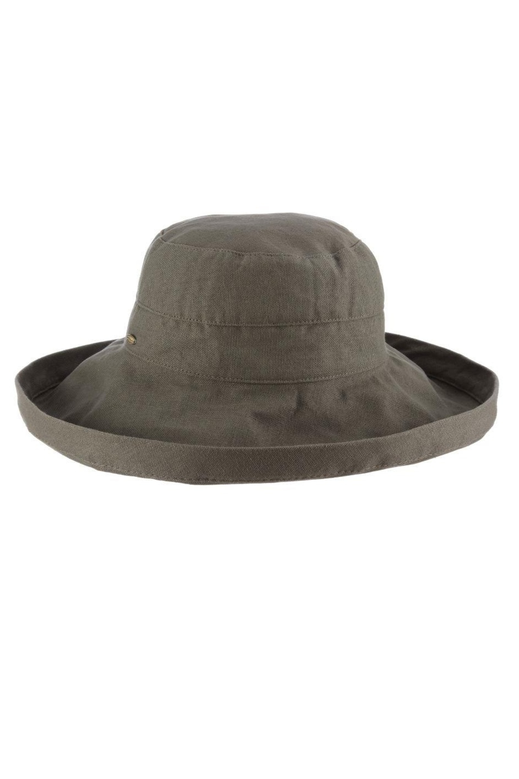 Dorfman Pacific  Giana Cotton Hat - Front Cropped Image