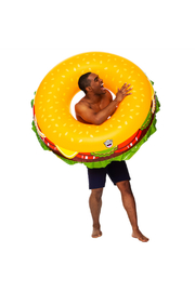 Big Mouth Giant Cheeseburger Pool Float - Product Mini Image