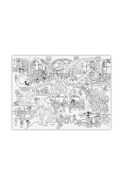 Crocodile Creek Giant Coloring Poster: Dinosaurs - Alternate List Image