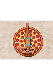 Big Mouth Giant Pizza Beach Blanket - Product Mini Image