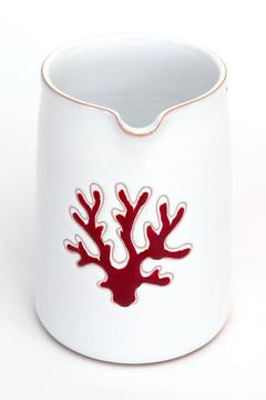 Giardini di Sole Red Corallo Pitcher - Product List Image