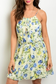GIBIU Floral Print Sundress - Product Mini Image