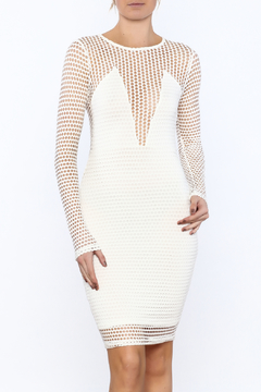 Shoptiques Product: Semi Sheer Knee Dress