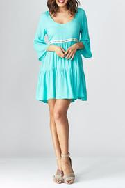 GIBIU Peasant Dress - Front cropped