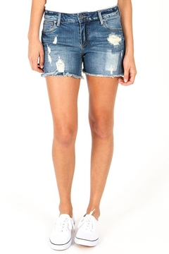 Kut from the Kloth Gidget Distressed Shorts - Product List Image