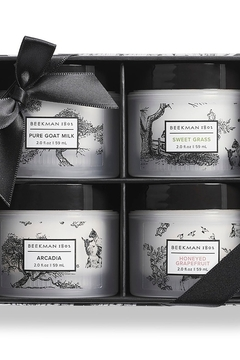 Beekman 1802 Gift Box of Four Whipped Body Creams - Alternate List Image