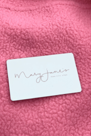 Mary Jane's $50 Gift Card - Front cropped