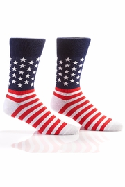 Gift Craft American Flag Socks - Product Mini Image