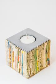 Gift Craft Colorful Candle Holder - Product Mini Image