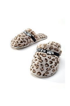 Shoptiques Product: Leopard Bling Slippers
