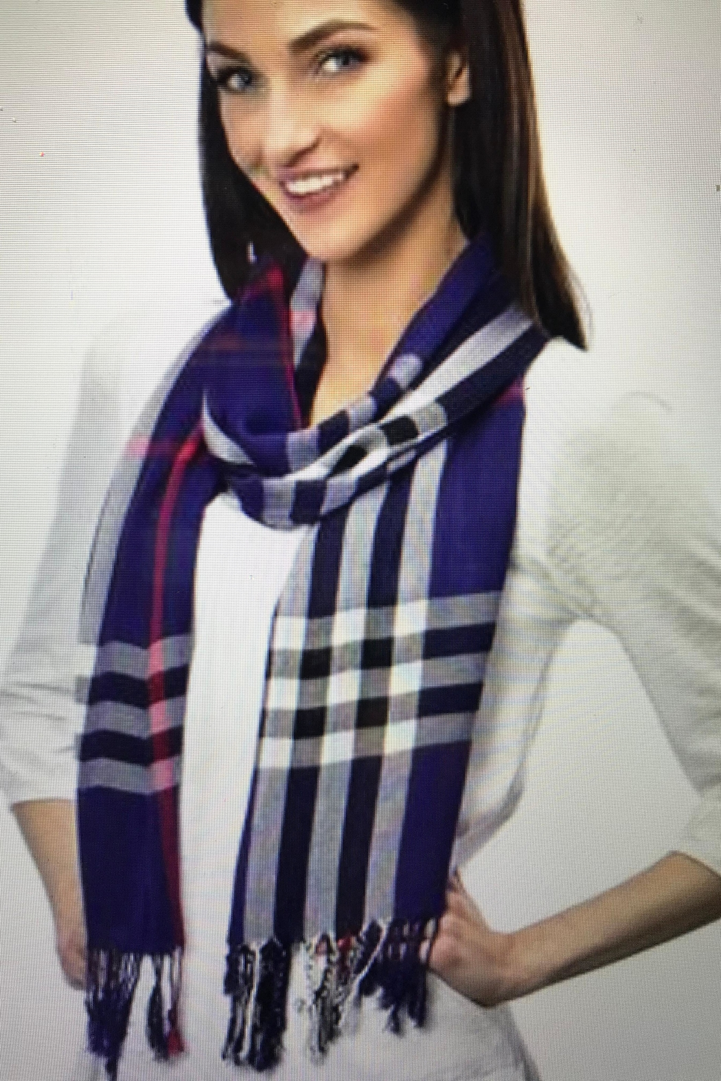 Gift Craft Lightweight Oblong Scarf - Front Cropped Image