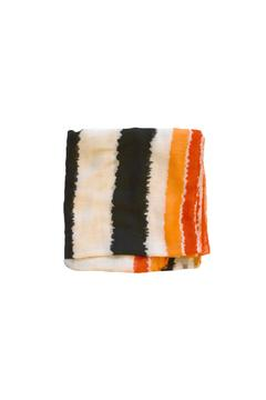 Shoptiques Product: Orange Fringe Scarf