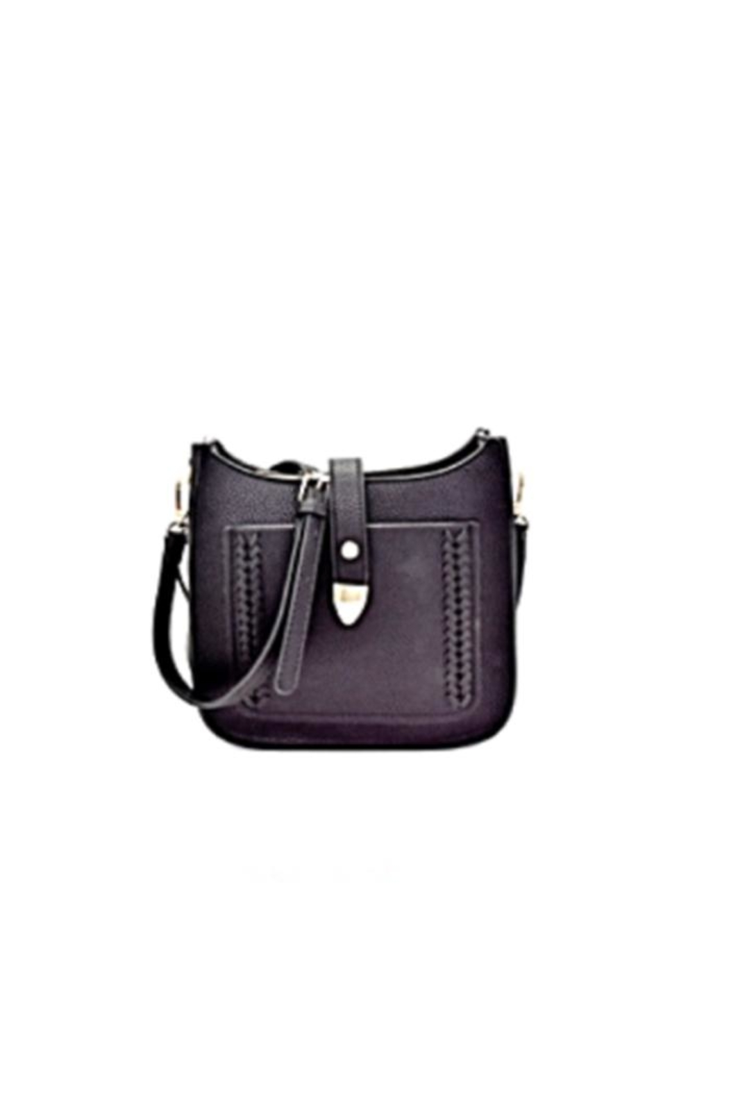 Gift Girl Braided Crossbody - Front Cropped Image