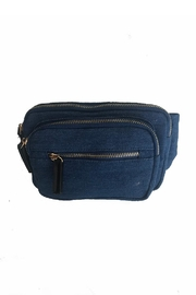 Gift Girl Denim Fanny Pack - Front cropped