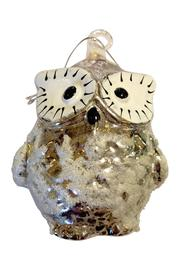 Giftcraft Inc.  Frosted Owl Ornament - Product Mini Image