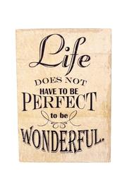 Giftcraft Inc.  Life Inspiration Sign - Product Mini Image