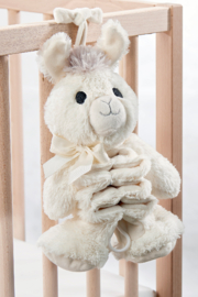 Giftcraft Lil Llama Musical Pull Toy - Front cropped