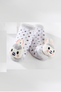 Giftcraft Inc.  Giftcraft Lil LLama Rattle Socks - Product List Image
