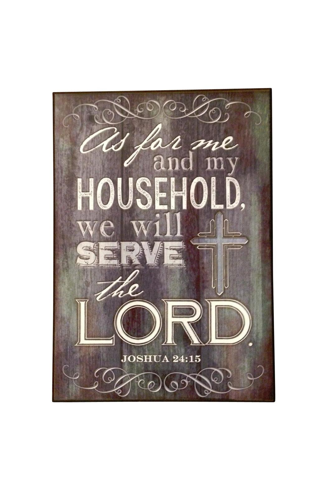 Giftcraft Inc.  Scripture Plaque Decor - Main Image