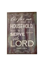 Giftcraft Inc.  Scripture Plaque Decor - Front cropped