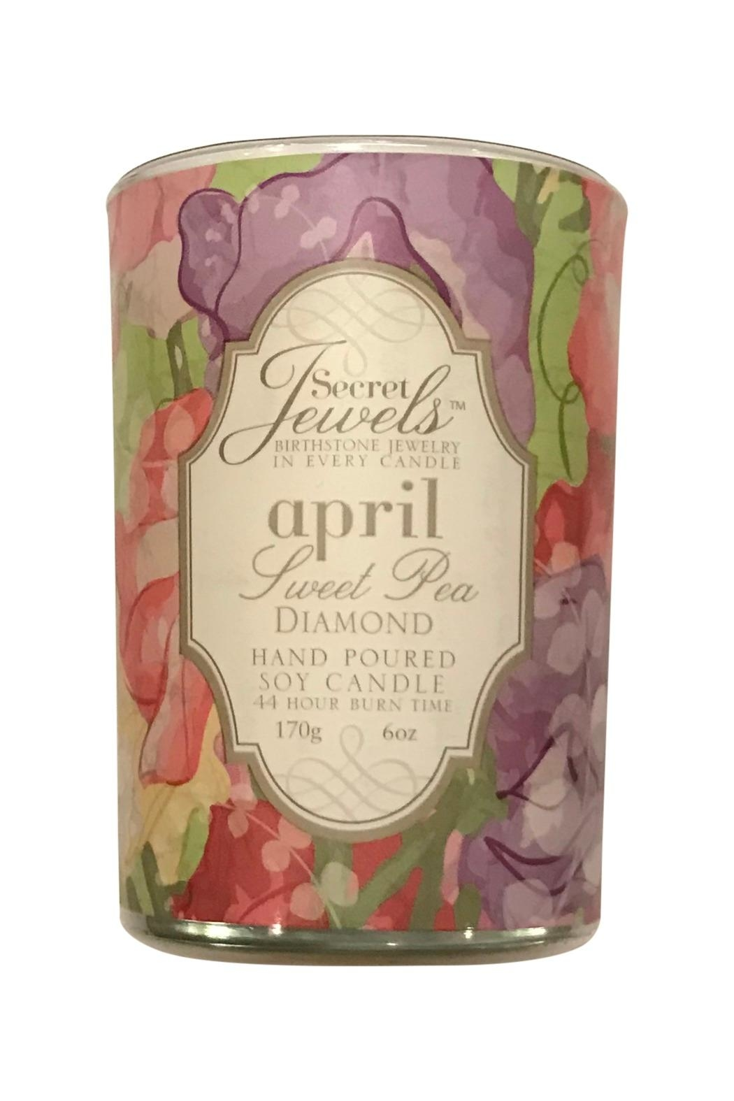 Giftcraft Inc.  April Jewelry Candle - Main Image