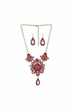 Giftcraft Inc.  Bib Necklace & Earring - Product List Image