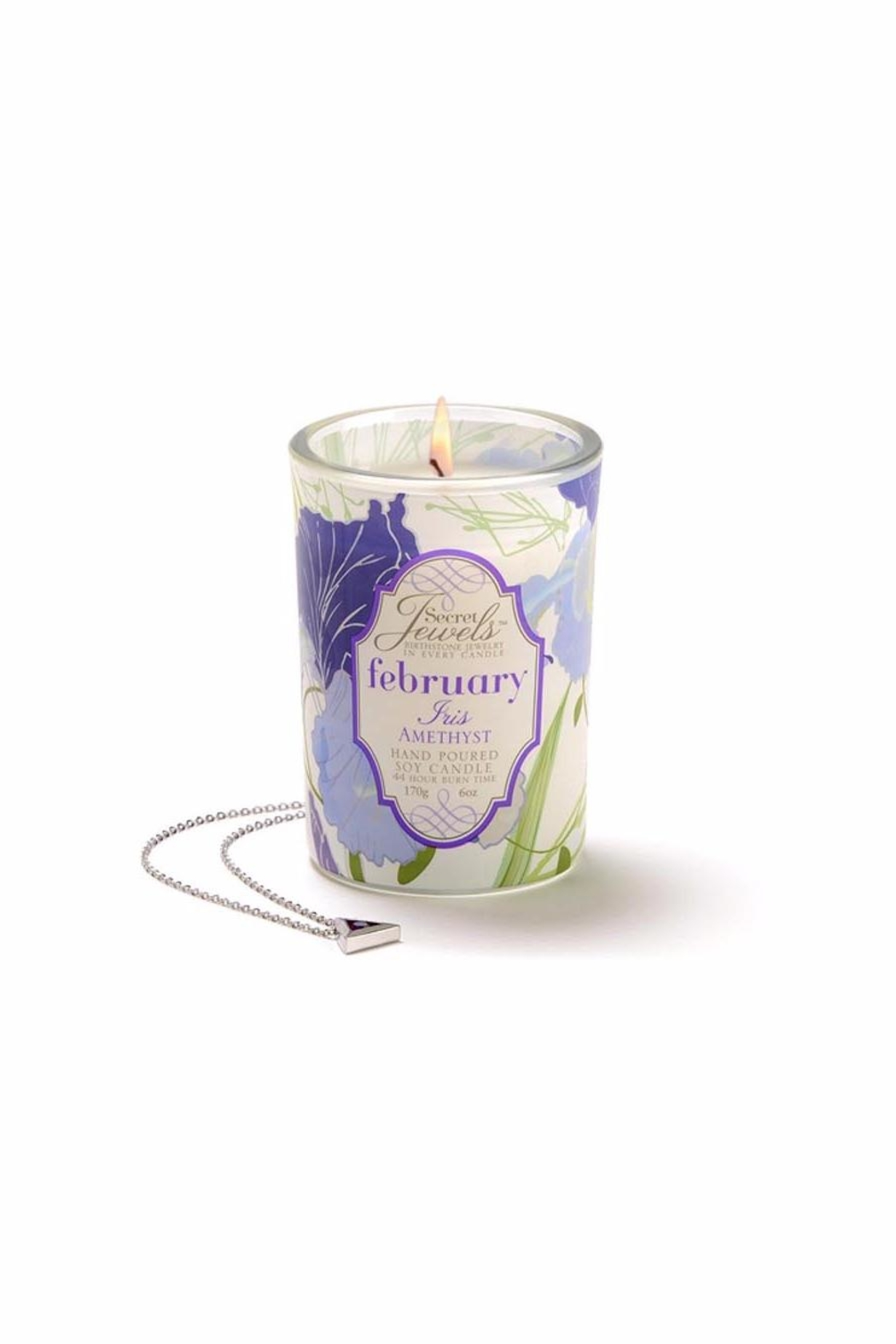 Giftcraft Inc.  Iris Scented Candle - Main Image